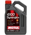 MOTUL 6100 Synergie+SAE 10w40 (4 л) масло моторное